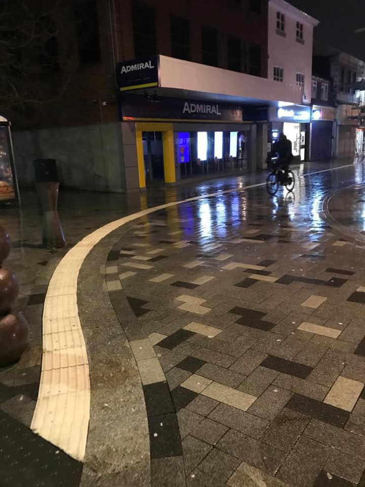 Keeping West Bromwich Town Clean – Intense Jet Washing