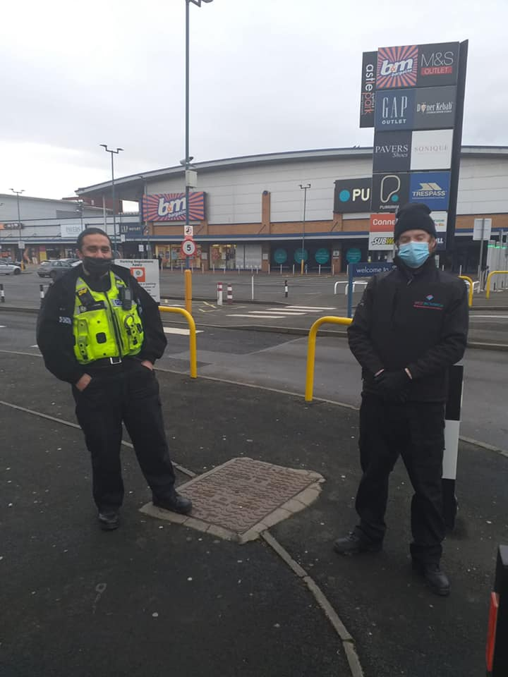 Joint Patrol – Town Ambassador Scott and PC Mo