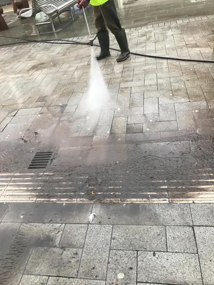 Keeping West Bromwich Clean – Intense Jet Wash