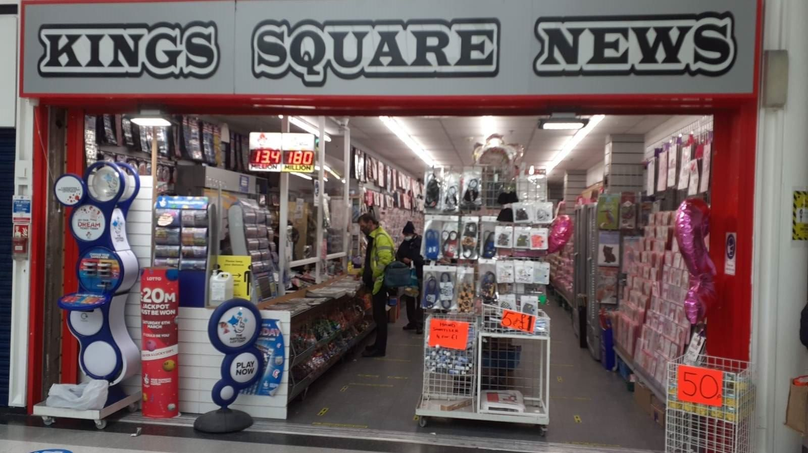 Promoting the Newsagents in our BID area