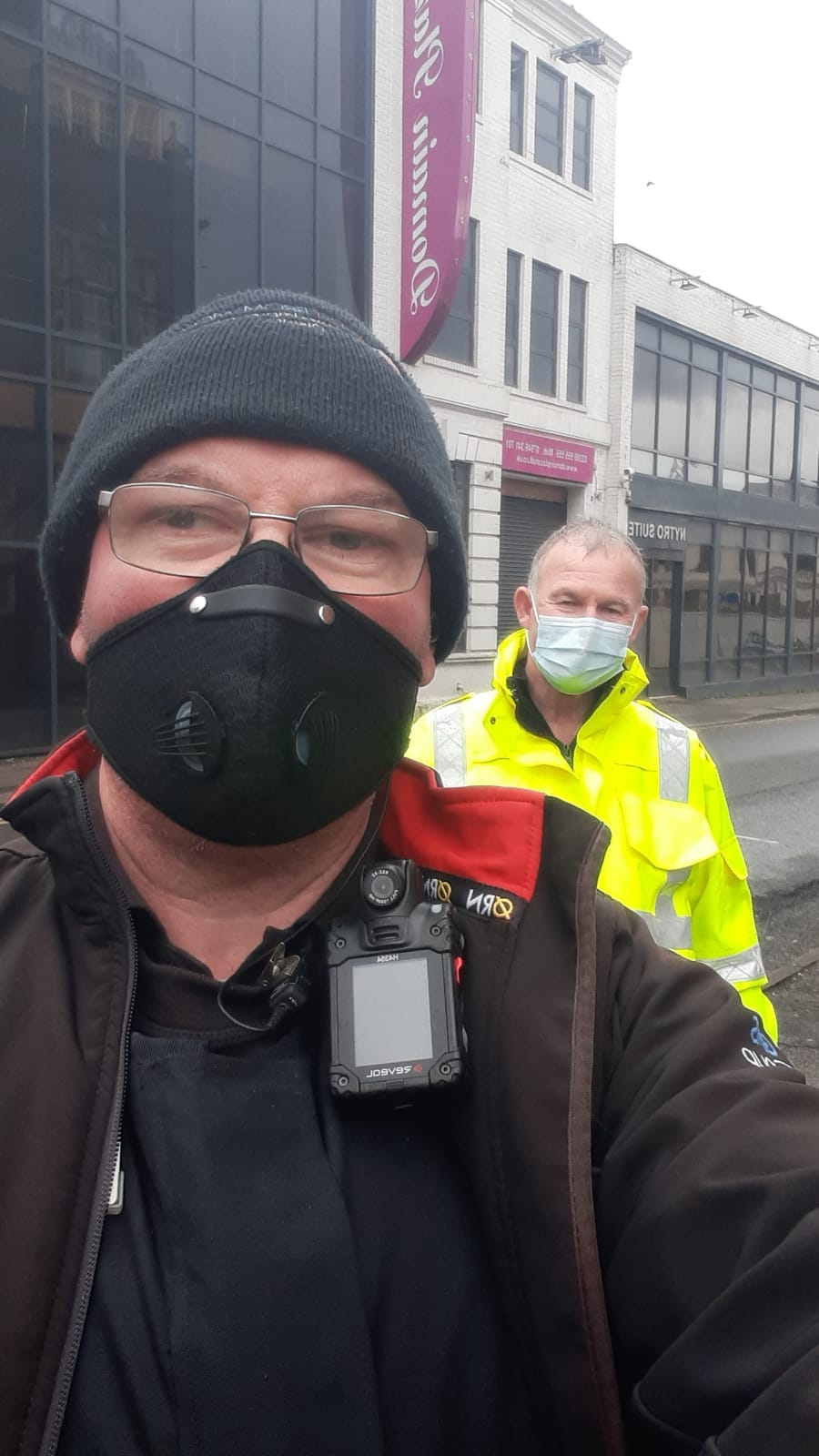 Joint Patrols with COVID Marshalls – 26.03.2021
