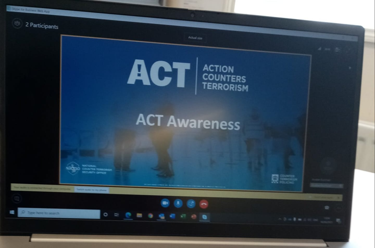 West Bromwich BID attends Action Counters Terrorism Awareness Training