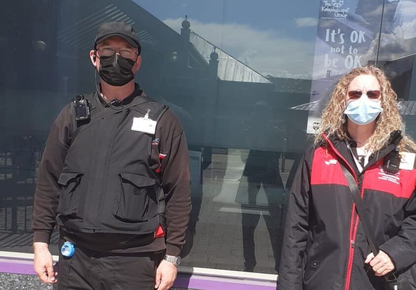 Joint Patrols with Sandwell College Ambassadors