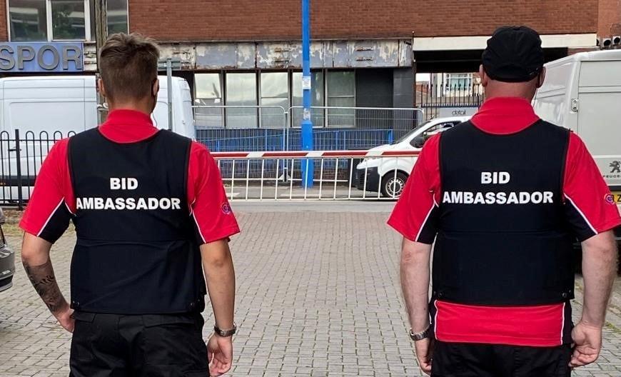 New Uniforms for our BID Ambassadors
