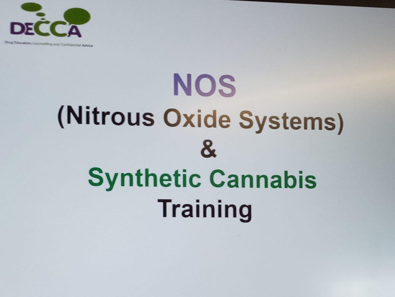 Nitrous Oxide & Synthetic Cannabis Training for the BID Team