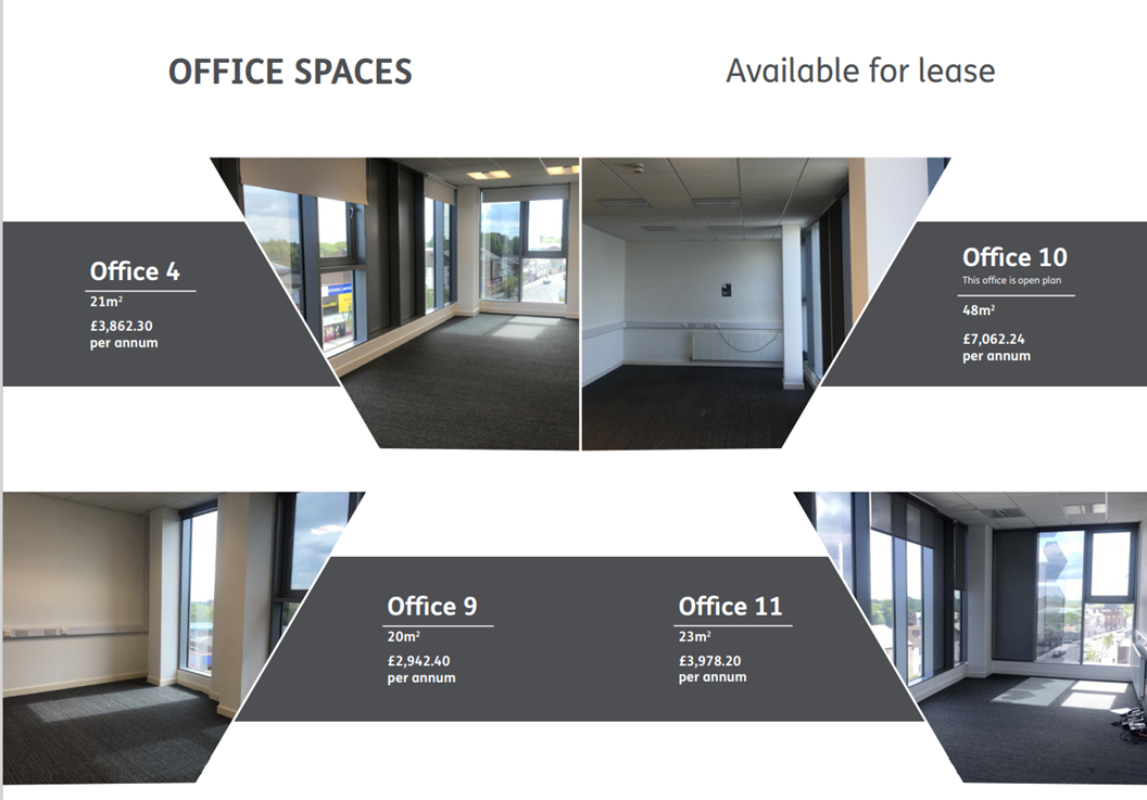 Enterprise Unit & Office Space to Let at YMCA, Carters Green