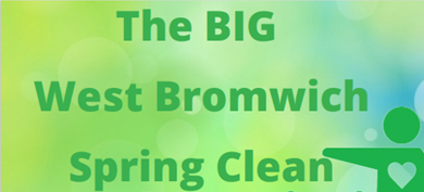 The BIG Spring Clean in West Bromwich – 18th June 2021