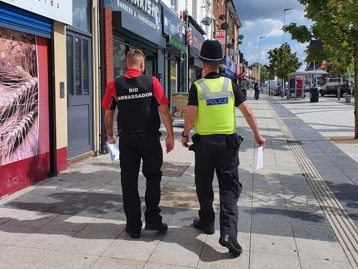 Partnership Working with West Bromwich Police