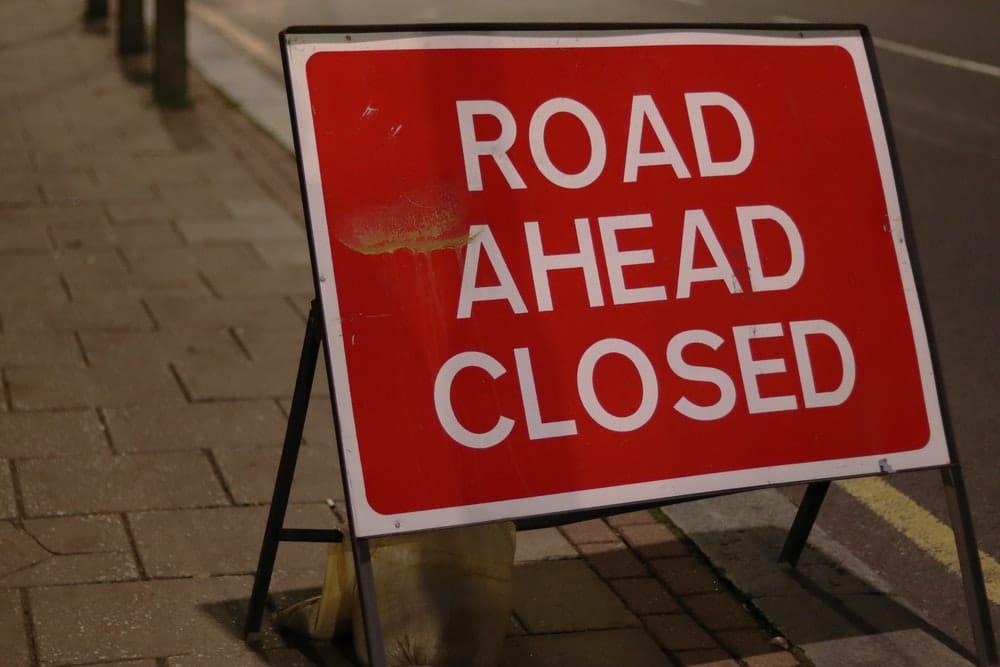 Road Closure 25.08.2021