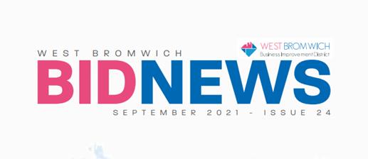 West Bromwich BID Newsletter – September 2021
