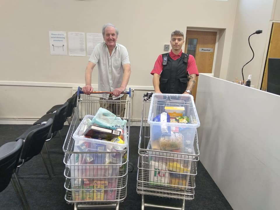 West Bromwich Food Bank Drive – August 2021