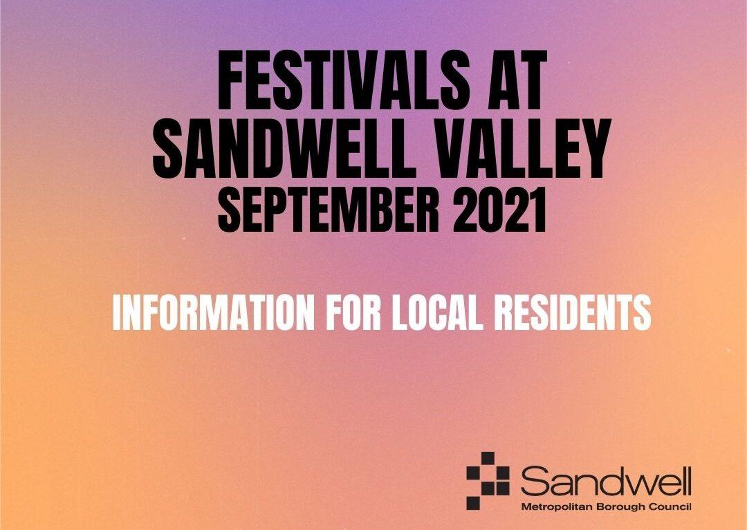 Festivals at Sandwell Valley – September 2021