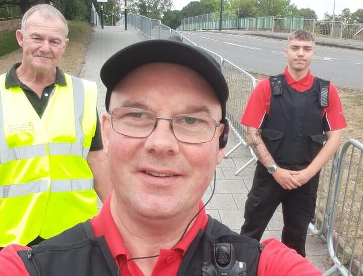Joint Patrols with COVID Marshalls