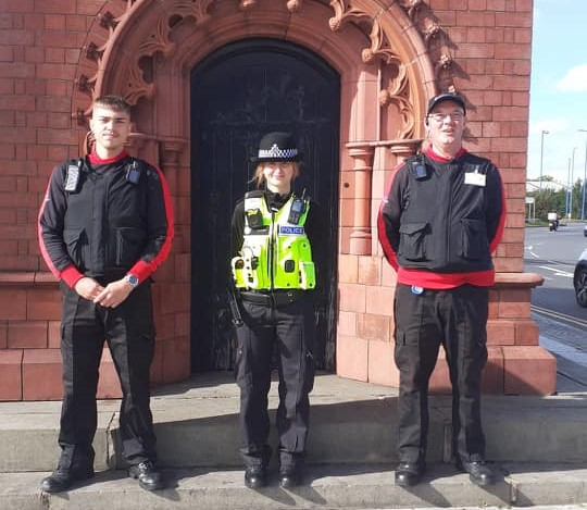 BID Ambassadors Joint Patrol with West Bromwich Police